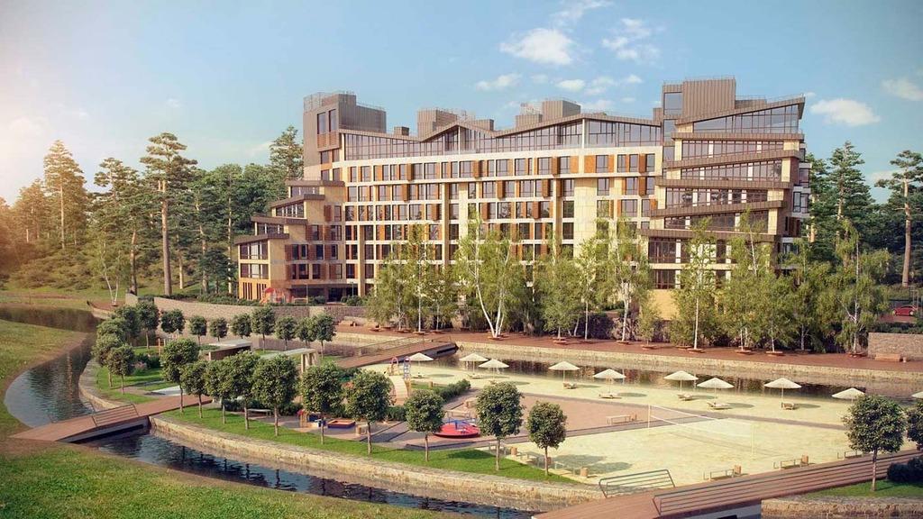 Жилой комплекс Изумрудный Новогорск  Строительство жилых