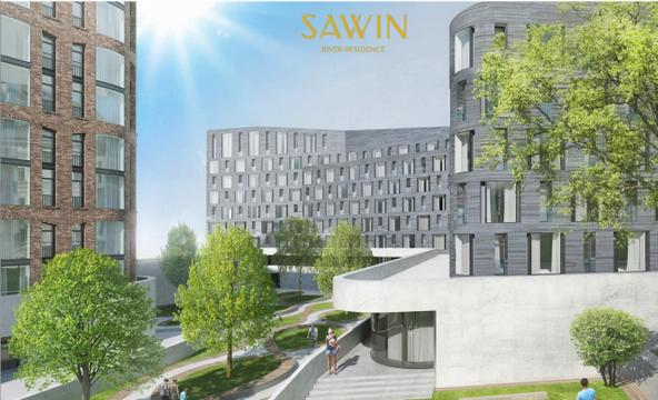 Residence ЖК Sawin River Residence (Магнит Эспланады)
